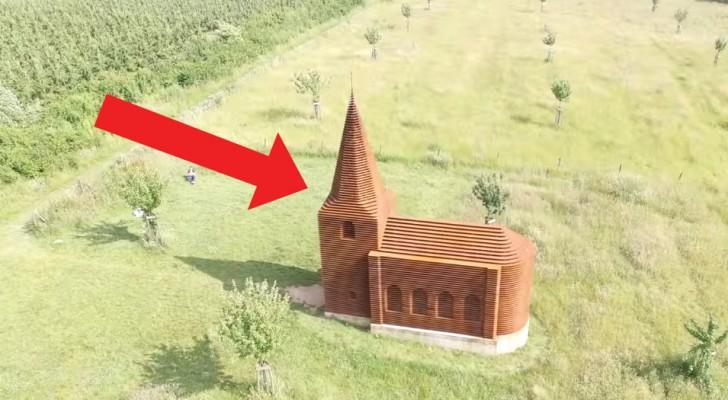 Parece uma igreja normal… Mas quando vires de perto vais ficar surpreendido com o segredo que esconde!