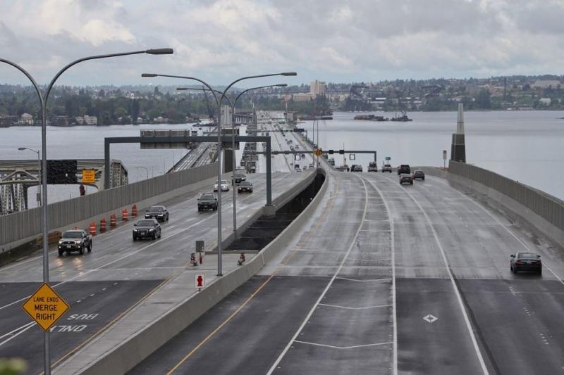 A maior ponte flutuante do mundo