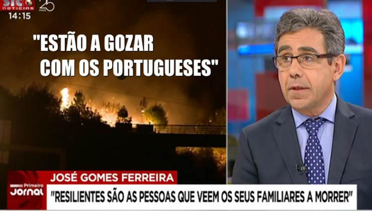"""Ainda dizem que a culpa é das queimadas… """"Estão a gozar com os Portugueses""""!"""