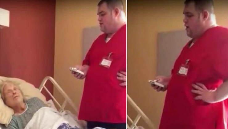 A idosa estava a morrer… Então o enfermeiro tirou algo do bolso e fez-lhe isto…