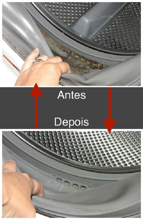 A sua máquina de lavar tem bolor…isso provoca graves problemas respiratórios e de pele! Saiba como o eliminar!