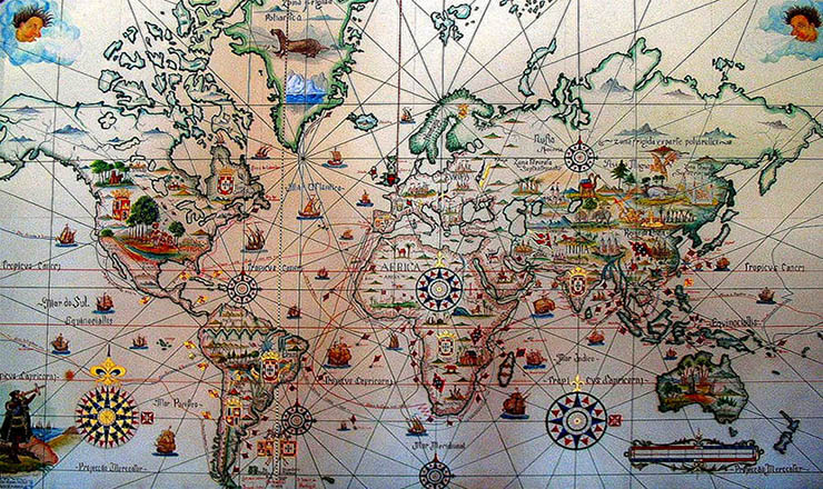 Dois terços do mundo foram descobertos pelos portugueses! Mas poucos sabem disso!