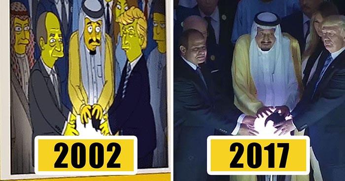 Várias previsões que Os Simpsons fizeram sobre o mundo. Inacreditável!