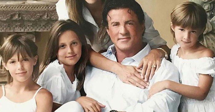 É assim que estão hoje as filhas do Sylvester Stallone