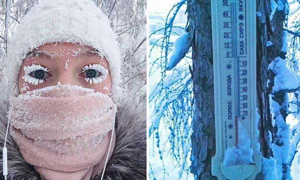 A vila mais fria do mundo está a bater recordes este ano! Até os termómetros avariam!