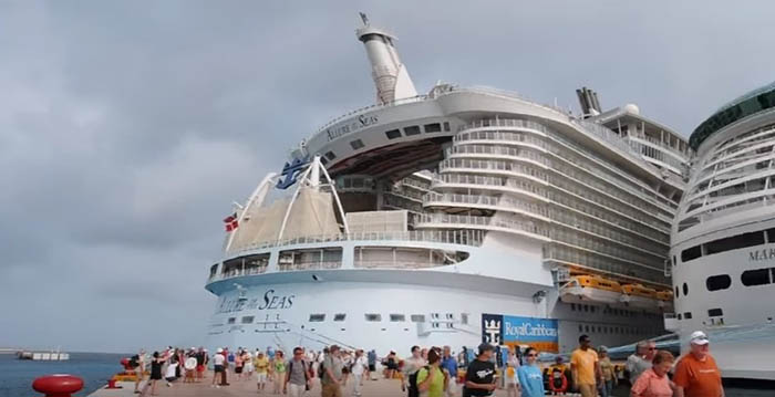 Como é viajar no maior navio cruzeiro do mundo…