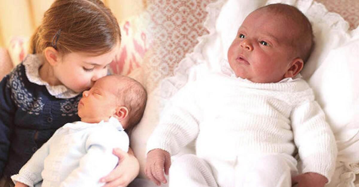 Primeiras fotos do príncipe Louis foram divulgadas e revelam um grande detalhe…