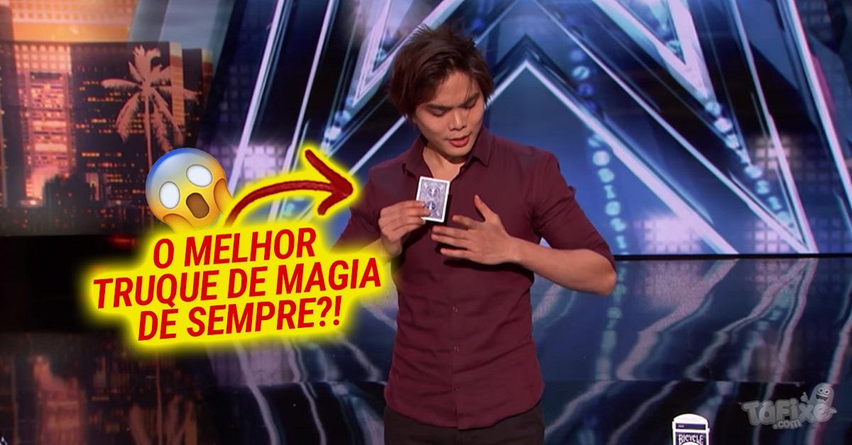 Shin Lim brilhou no America's Got Talent com um truque de cartas inacreditável