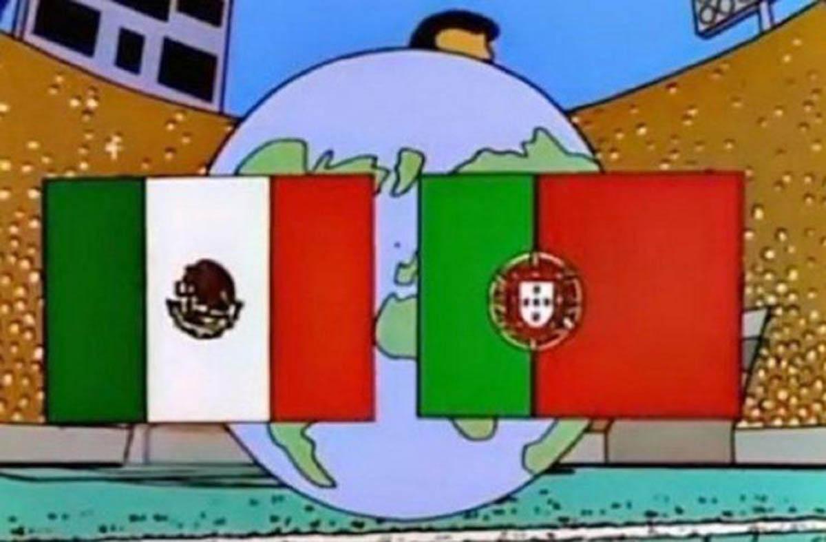 """""""Os Simpsons"""" previram que Portugal chega a final do mundial 2018 contra o México"""