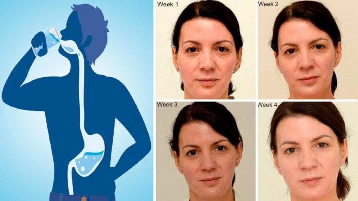 Sabes o que acontece se beberes só agua durante durante 1 mês?