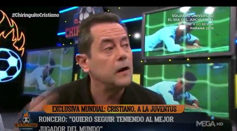 Jornalista faz apelo emocionante para Cristiano Ronaldo ficar no Real Madrid