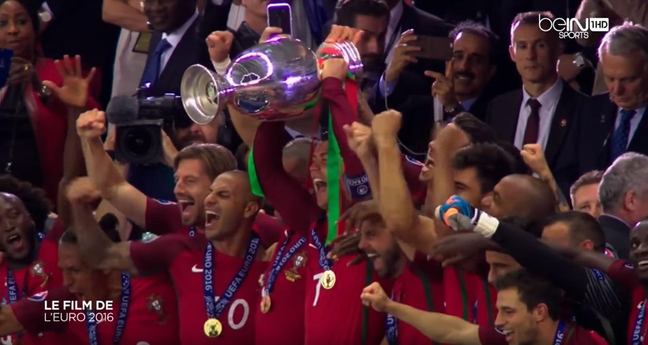 O filme arrepiante do dia em que Portugal foi campeão da Europa