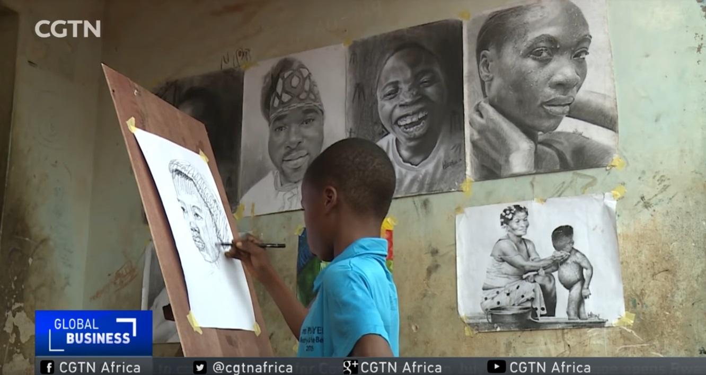 Criança de 11 anos impressiona o mundo inteiro com o seu talento a desenhar