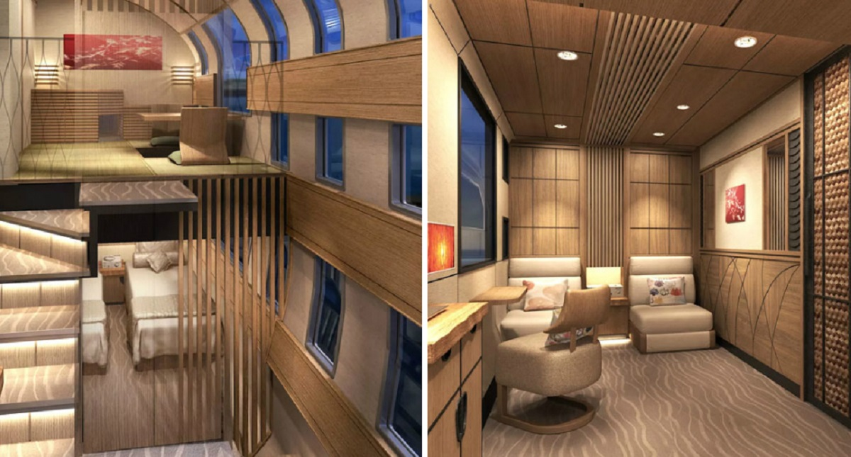O comboio mais moderno e luxuoso do mundo – O Shiki-shima
