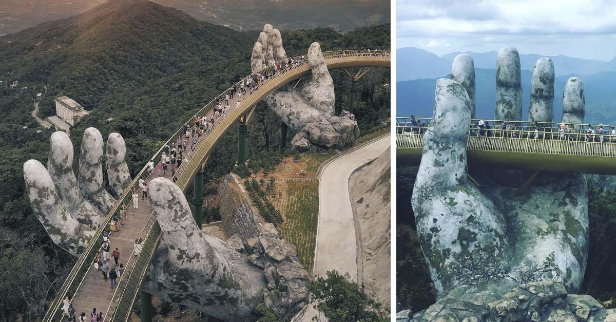 Ponte no Vietname é de tirar o fôlego…