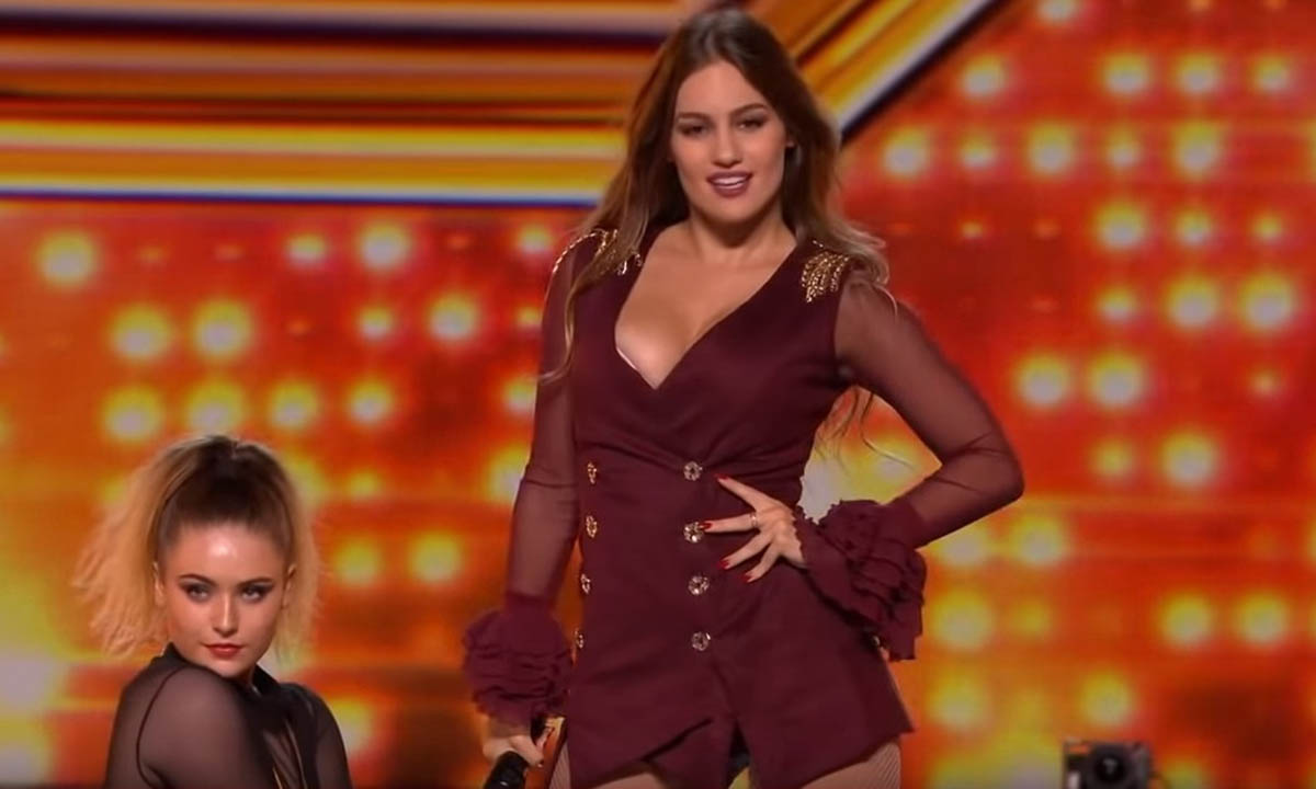 "Vinda directamente da Grécia Athena Manoukian arrasou completamente no ""The X Factor UK"""