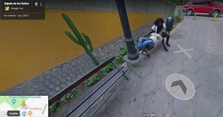 Homem apanha a mulher com outro através do Google Street View