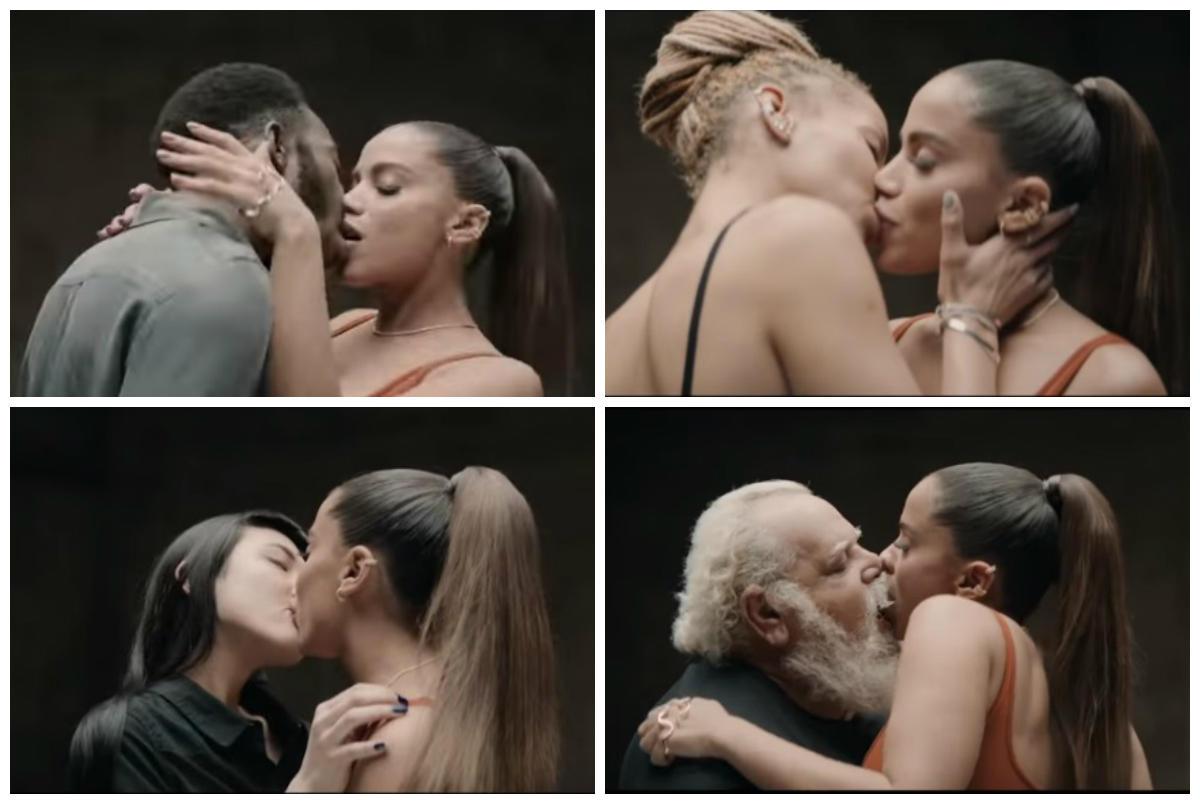 Anitta beija 28 pessoas em 30 segundos no seu novo videoclip