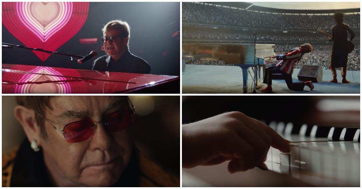 Elton John está a emocionar os internautas com anúncio de Natal