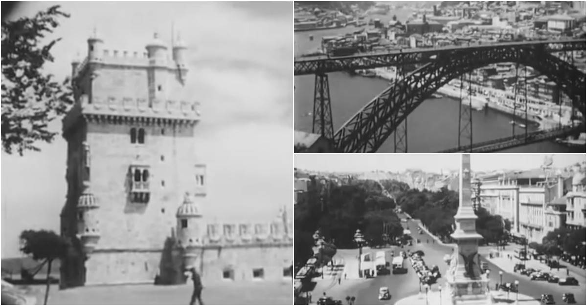 Imagens impressionantes de como era Portugal em 1950!