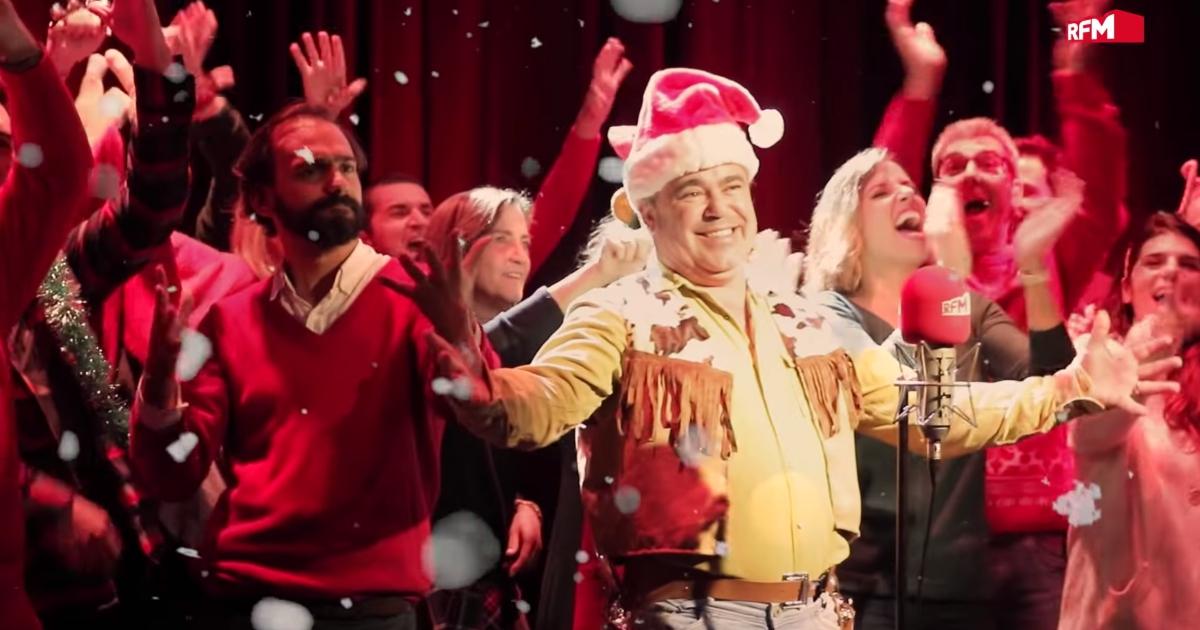 A música de Natal da RFM com a participação de Toy