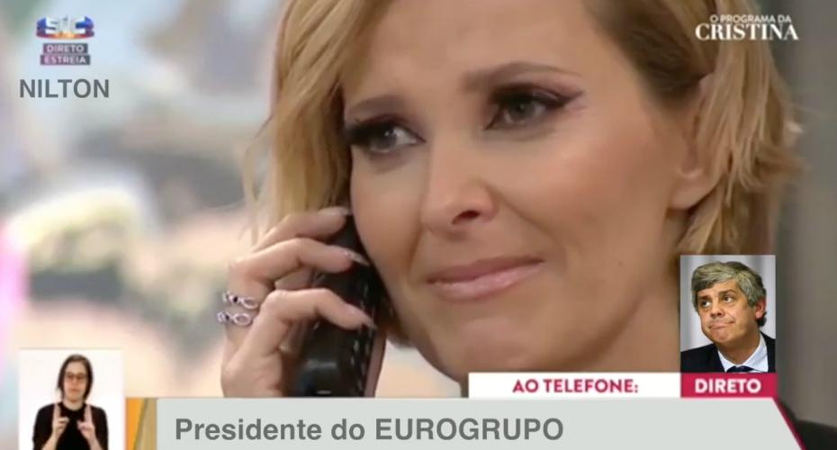 O telefonema para Cristina Ferreira que não passou em directo…
