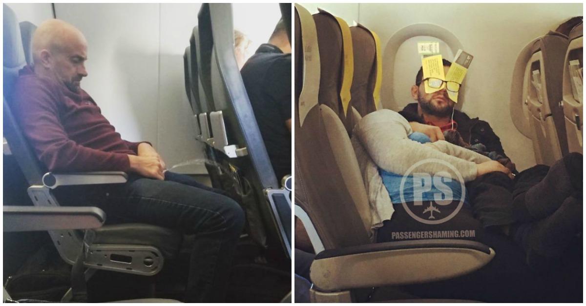 Os piores passageiros de viagens de avião. Não têm mesmo noção…
