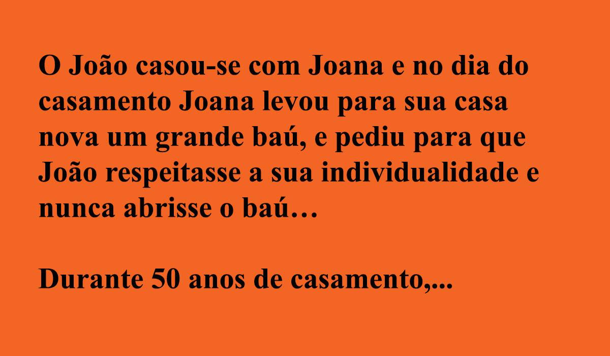O baú da Joana…