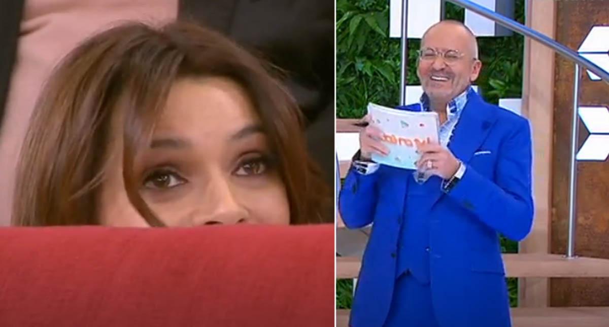 """Goucha fez pergunta """"indiscreta"""" a Maria Cerqueira deixando-a bastante envergonhada em directo"""