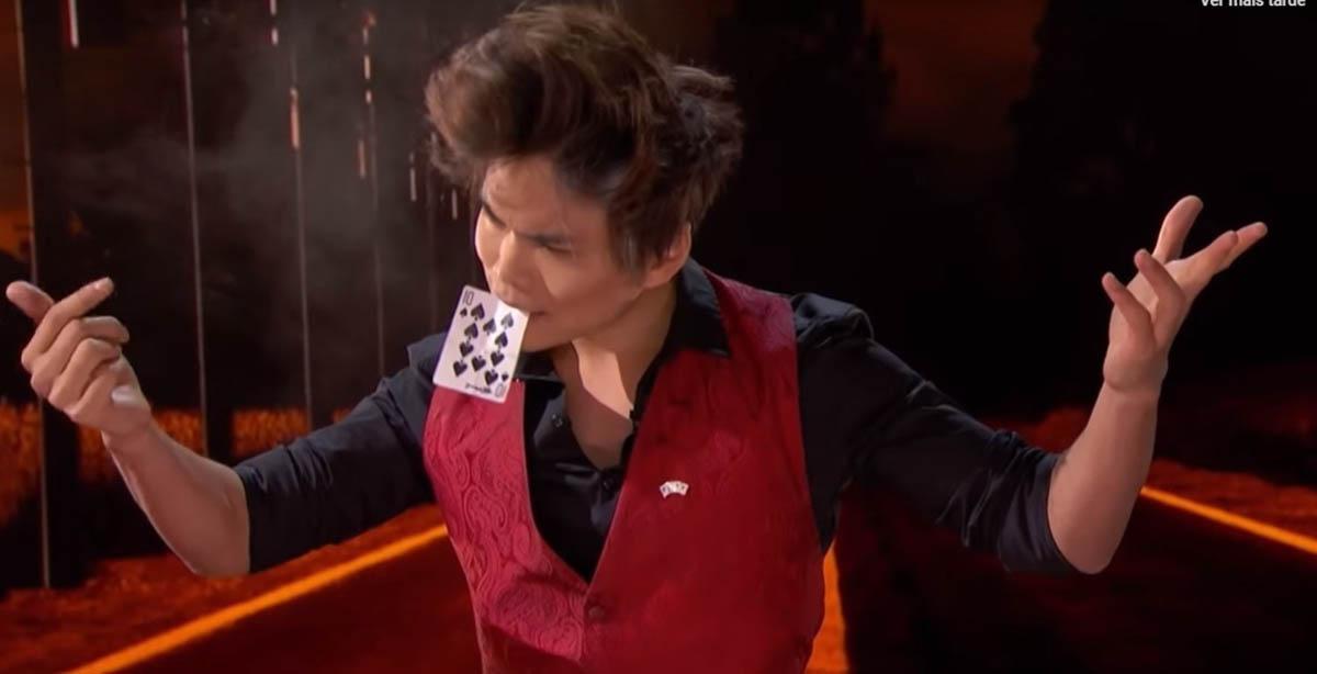 Shin Lim voltou ao America´s Got Talent com truque de cartas impressionante