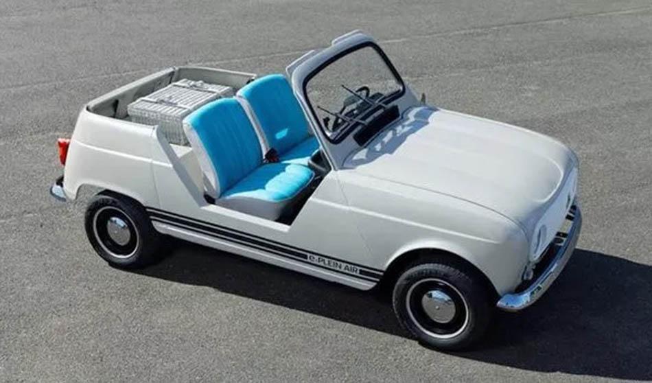 A Renault 4L está de volta. Eléctrica e descapotável