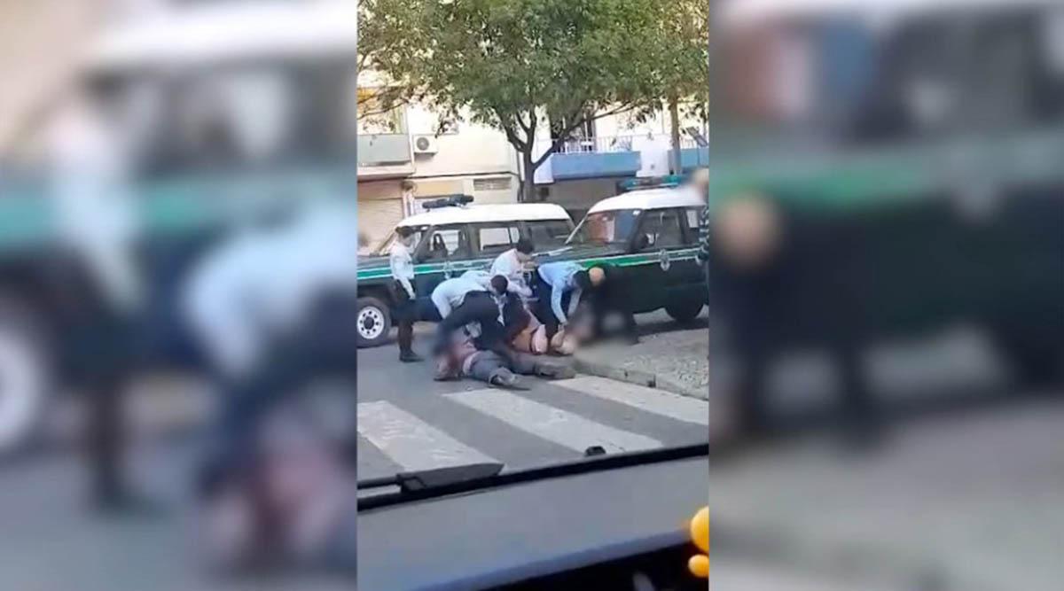 Português cospe em cima de pessoas e diz estar infetado com coronavírus