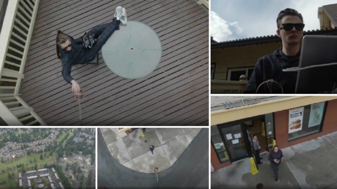 Jovem levanta pedido no McDonald's utilizando um Drone a partir de casa