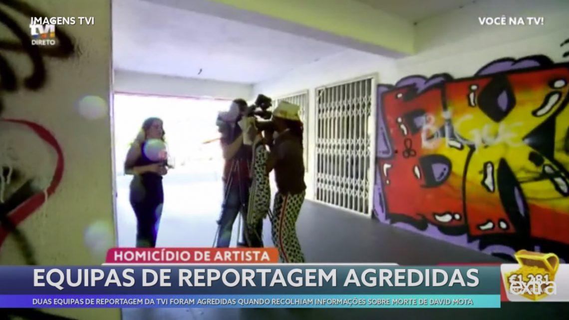 Equipa de reportagem da TVI agredida no Cacém